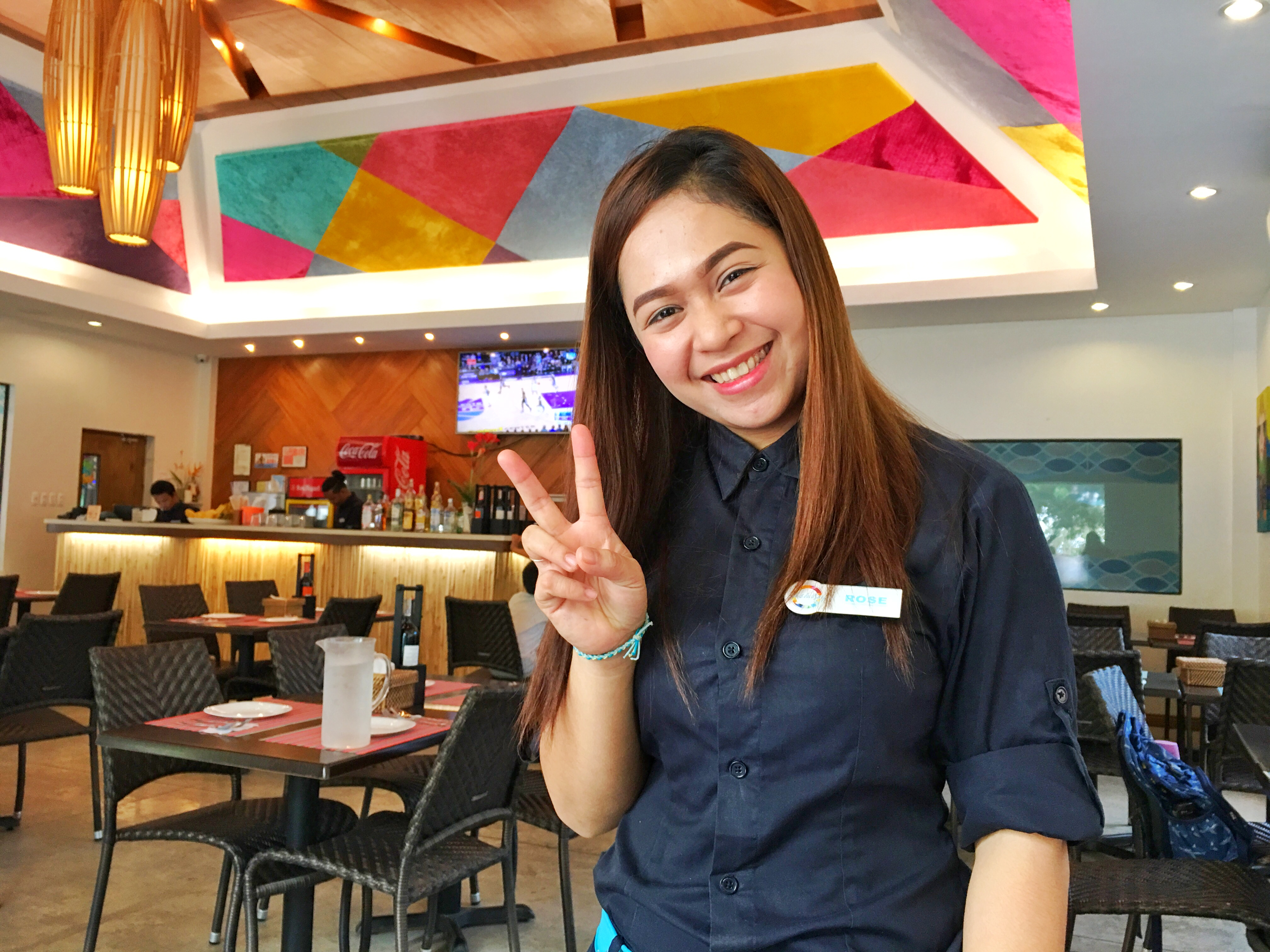 マクタン飯(2)~マクタン島おすすめレストラン~フィリピン料理『Fiesta Bay(フィエスタベイ)』~シャングリラ、モーベンピックホテル