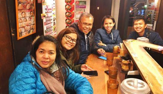 日本観光(旅行)の定番【ゴールデンルート】を外国人(フィリピン人)と一緒に周遊する(1)