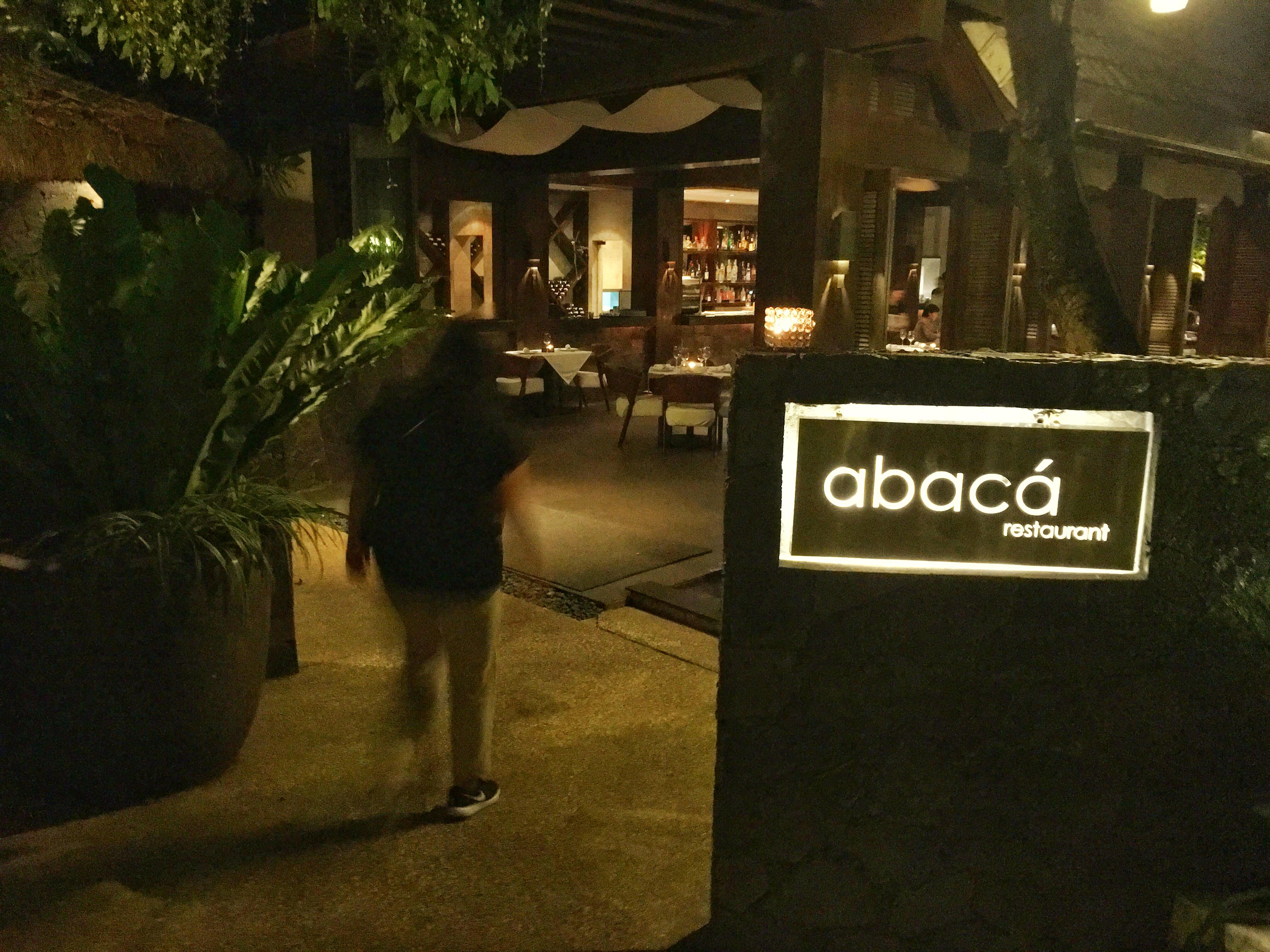 マクタン飯(3)~abacá Restaurant(アバカレストラン)~贅沢な食事と時間を過ごすならココ(デート、大切な日)