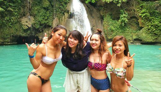【セブたび】女子旅 格安ジンベイザメスノーケリング&カワサンの滝