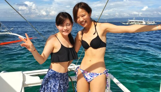 【セブたび】大学の友人での女子旅 格安アイランドピクニック~パンダノン島~
