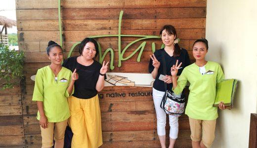 マクタン飯(12)~マクタン島で一番のおすすめ水上フィリピン料理レストラン『ランタウコルドバ(Lantaw Cordova)』~