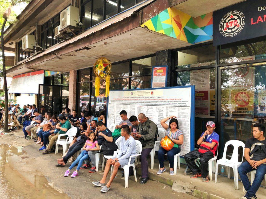 フィリピン運転免許証