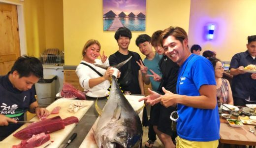 マクタン島でマグロ解体ショーを見ながらディナー!『BADA SEAFOOD』〜マクタン飯(41)〜
